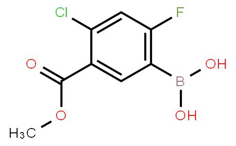 BP23730 | 325786-24-1 | 4-Chloro-2-fluoro-5-methoxycarbonylphenylboronic acid