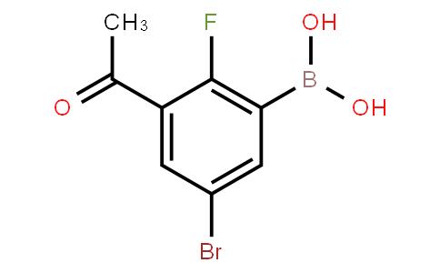 BP23748   3-Acetyl-5-bromo-2-fluorophenylboronic acid