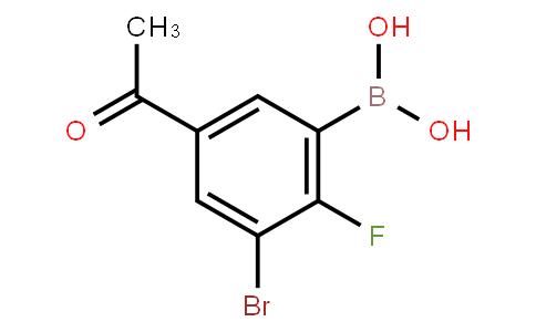 BP23750   5-Acetyl-3-bromo-2-fluorophenylboronic acid