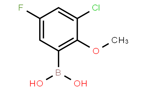 BP23754   2121513-76-4   3-Chloro-5-fluoro-2-methoxyphenylboronic acid