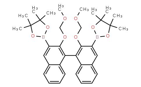 BP23757 | 955405-38-6 | 1,3,2-Dioxaborolane, 2,2'-[2,2'-bis(methoxymethoxy)[1,1'-binaphthalene]-3,3'-diyl]bis[4,4,5,5-tetramethyl-