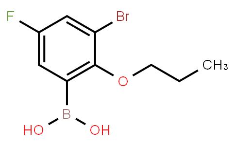 BP23764 | 868272-84-8 | 3-Bromo-5-fluoro-2-propoxyphenylboronic acid
