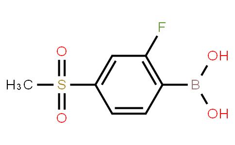 BP23772 | 957060-85-4 | 2-Fluoro-4-(methylsulfonyl)phenylboronic acid