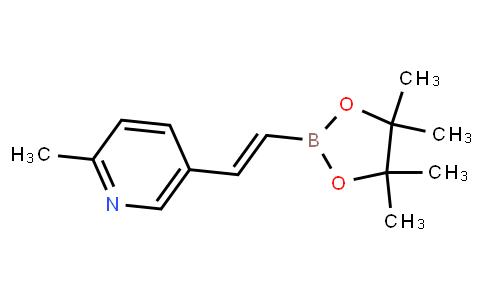 BP23807   1220278-78-3   (E)-2-methyl-5-(2-(4,4,5,5-tetramethyl-1,3,2-dioxaborolan-2-yl)vinyl)pyridine