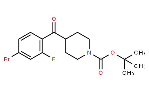 BP23811 | 1159826-04-6 | tert-butyl 4-(4-bromo-2-fluorobenzoyl)piperidine-1-carboxylate