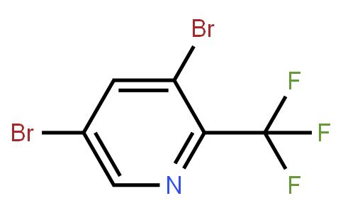 3,5-dibromo-2-(trifluoromethyl)pyridine