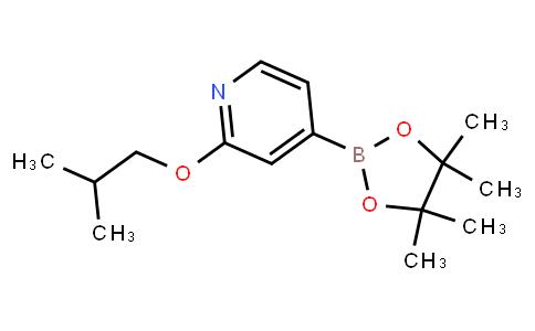 BP23831 | 1346707-87-6 | 2-isobutoxy-4-(4,4,5,5-tetramethyl-1,3,2-dioxaborolan-2-yl)pyridine