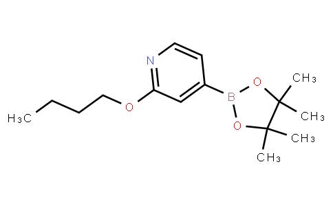 BP23832 | 1346707-86-5 | 2-butoxy-4-(4,4,5,5-tetramethyl-1,3,2-dioxaborolan-2-yl)pyridine