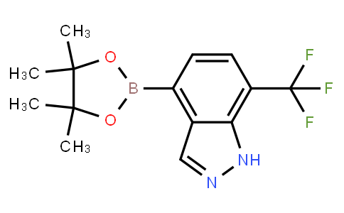 BP23840   1186334-80-4   7-trifluoromethyl-4-(4,4,5,5-tetramethyl-1,3,2-dioxaborolan-2-yl)-1h-indazole
