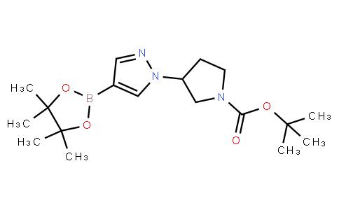 BP23841   1359974-18-7   tert-butyl 3-[4-(tetramethyl-1,3,2-dioxaborolan-2-yl)-1H-pyrazol-1-yl]pyrrolidine-1-carboxylate