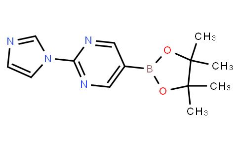 BP23846 | 1160790-26-0 | 2-(1H-imidazol-1-yl)-5-(4,4,5,5-tetramethyl-1,3,2-dioxaborolan-2-yl)pyrimidine