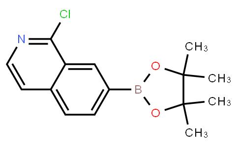 BP23850 | 1313761-15-7 | 1-chloro-7-(4,4,5,5-tetramethyl-1,3,2-dioxaborolan-2-yl)isoquinoline