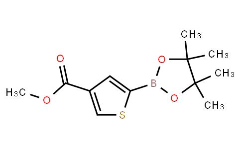 BP23851 | 1040281-86-4 | methyl 5-(4,4,5,5-tetramethyl-1,3,2-dioxaborolan-2-yl)thiophene-3-carboxylate
