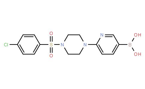 BP23854 | 1003043-43-3 | 6-(4-(4-chlorophenylsulfonyl)piperazin-1-yl)pyridin-3-ylboronic acid