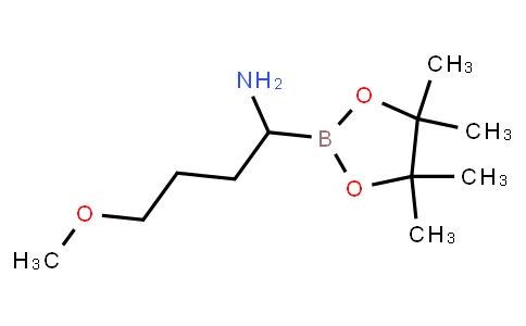BP23859 | 712261-40-0 | 4-methoxy-1-(4,4,5,5-tetramethyl-1,3,2-dioxaborolan-2-yl)butan-1-amine