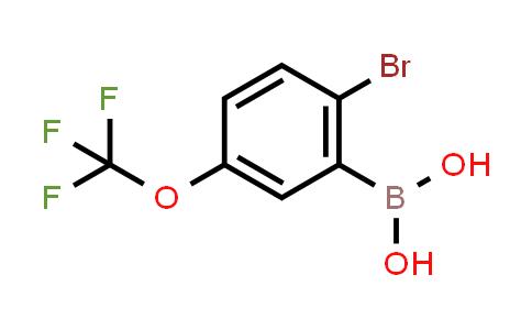 BP23886   957034-55-8   2-Bromo-5-trifluoromethoxyphenylboronic acid