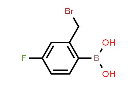 BP23899   850568-01-3   (2-(Bromomethyl)-4-fluorophenyl)boronic acid