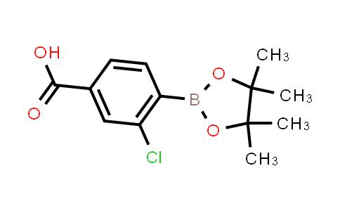 BP23940 | 904310-72-1 | 3-Chloro-4-(4,4,5,5-tetramethyl-1,3,2-dioxaborolan-2-yl)benzoic acid