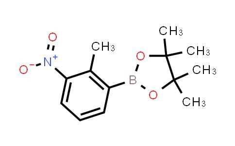 BP23944 | 910235-64-2 | 4,4,5,5-Tetramethyl-2-(2-methyl-3-nitrophenyl)-1,3,2-dioxaborolane