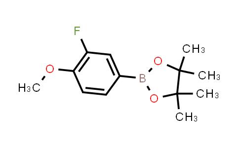 BP23948 | 754226-34-1 | 2-(3-fluoro-4-methoxyphenyl)-4,4,5,5-tetramethyl-1,3,2-dioxaborolane