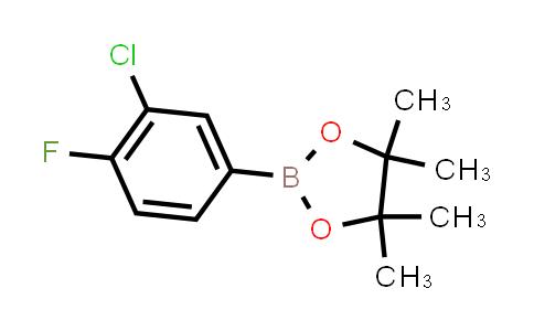 BP23953   635305-46-3   2-(3-Chloro-4-fluorophenyl)-4,4,5,5-tetramethyl-1,3,2-dioxaborolane