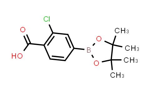 BP23954 | 890839-31-3 | 2-chloro-4-(4,4,5,5-tetramethyl-1,3,2-dioxaborolan-2-yl)benzoic acid