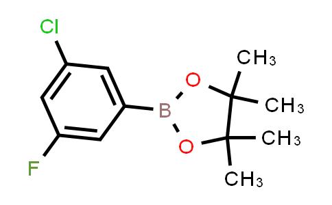 BP23956   1245524-02-0   2-(3-Chloro-5-fluorophenyl)-4,4,5,5-tetramethyl-1,3,2-dioxaborolane