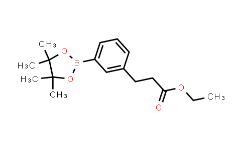 BP23962   935854-36-7   Ethyl 3-[3-(4,4,5,5-tetramethyl-1,3,2-dioxaborolan-2-yl)phenyl]propanoate