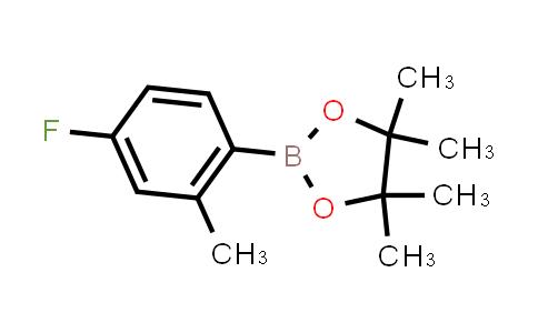 BP23964 | 815631-56-2 | 4-Fluoro-2-methylphenylboronic acid pinacol ester