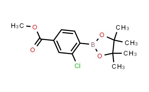 BP23975 | 603122-78-7 | Methyl 3-chloro-4-(4,4,5,5-tetramethyl-1,3,2-dioxaborolan-2-YL)benzoate