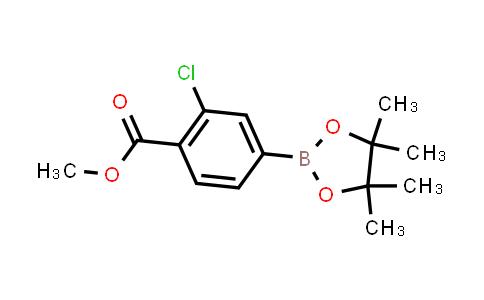 BP23976 | 334018-52-9 | Methyl 2-chloro-4-(4,4,5,5-tetramethyl-1,3,2-dioxaborolan-2-yl)benzoate