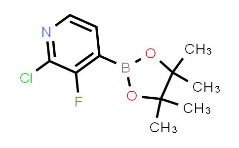 BP23989   1029654-43-0   2-Chloro-3-fluoro-4-(4,4,5,5-tetramethyl-1,3,2-dioxaborolan-2-yl)pyridine