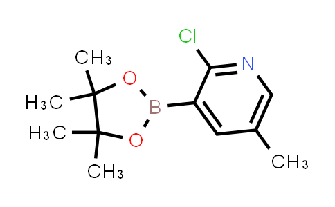 BP23997 | 1309982-62-4 | 2-chloro-5-methyl-3-(4,4,5,5-tetramethyl-1,3,2-dioxaborolan-2-yl)pyridine