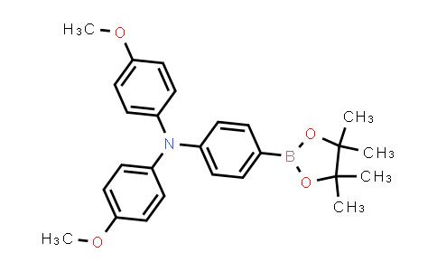 BP24023 | 875667-84-8 | 4-Methoxy-N-(4-methoxyphenyl)-N-(4-(4,4,5,5-tetramethyl-1,3,2-dioxaborolan-2-yl)phenyl)aniline