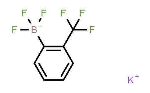 BP24047   30678-36-5   Potassium 2-(trifluoromethyl)phenyltrifluoroborate