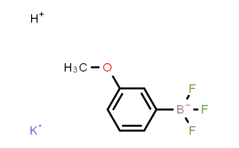 BP24052 | 438553-44-7 | 3-methoxyphenyltrifluoroboric acid potassium salt