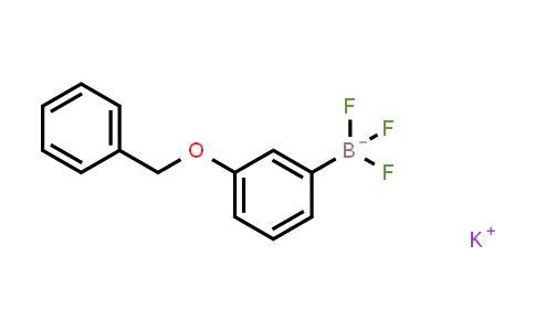 BP24053 | 850623-58-4 | Potassium [3-(benzyloxy)phenyl]trifluoroboranuide