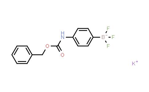BP24058 | 850623-45-9 | PotassiuM 4-(benzyloxycarbonylaMino)phenyltrifluoroborate