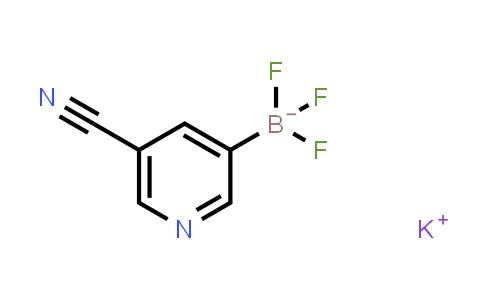 BP24070 | 1245906-68-6 | Potassium (5-cyanopyridin-3-yl)trifluoroborate