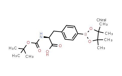 BP24129   216439-76-8   (S)-2-(tert-butoxycarbonylamino)-3-(4-(4,4,5,5-tetramethyl-1,3,2-dioxaborolan-2-yl)phenyl)propanoic acid