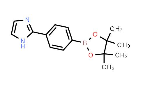 BP24131 | 1229584-17-1 | 2-(4-(4,4,5,5-tetramethyl-1,3,2-dioxaborolan-2-yl)phenyl)-1H-imidazole