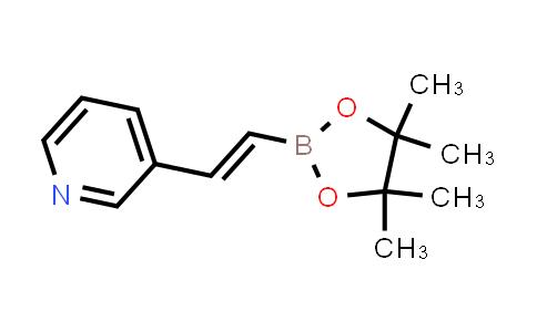 BP24143   736987-64-7   (E)-3-(2-(4,4,5,5-tetramethyl-1,3,2-dioxaborolan-2-yl)vinyl)pyridine