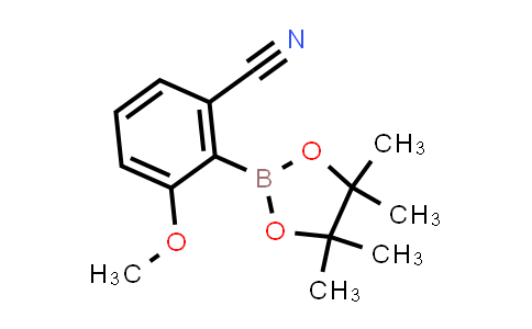 BP24152   1116096-84-4   3-methoxy-2-(4,4,5,5-tetramethyl-1,3,2-dioxaborolan-2-yl)benzonitrile