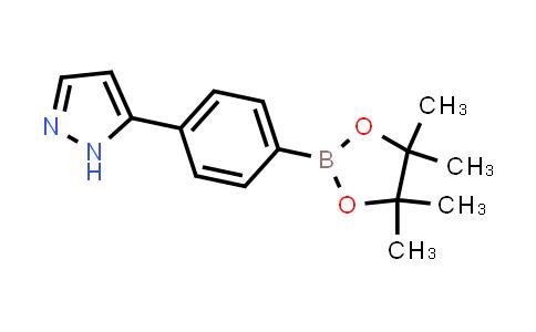 BP24153 | 1196879-97-6 | 5-(4-(4,4,5,5-tetramethyl-1,3,2-dioxaborolan-2-yl)phenyl)-1H-pyrazole