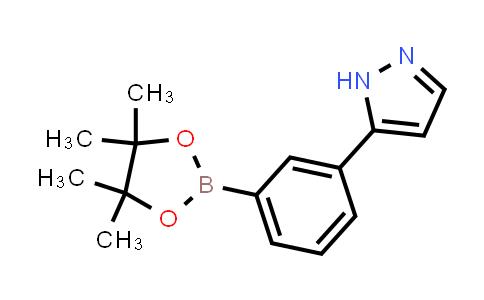 BP24154 | 1217340-87-8 | 5-(3-(4,4,5,5-tetramethyl-1,3,2-dioxaborolan-2-yl)phenyl)-1H-pyrazole