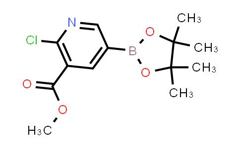 BP24162 | 1622216-98-1 | methyl 2-chloro-5-(4,4,5,5-tetramethyl-1,3,2-dioxaborolan-2-yl)nicotinate