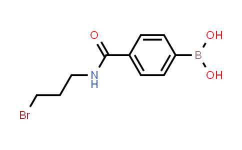 BP24198 | 850567-41-8 | 4-(3-bromopropylcarbamoyl)phenylboronic acid