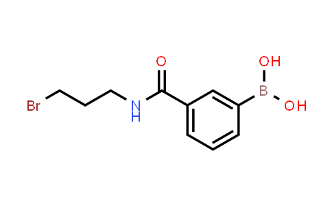 BP24199   850567-42-9   3-(3-bromopropylcarbamoyl)phenylboronic acid