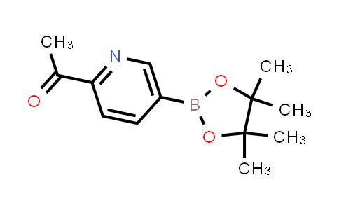 BP24216   741709-59-1   1-(5-(4,4,5,5-tetramethyl-1,3,2-dioxaborolan-2-yl)pyridin-2-yl)ethanone