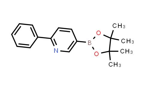 BP24217   879291-27-7   2-phenyl-5-(4,4,5,5-tetramethyl-1,3,2-dioxaborolan-2-yl)pyridine